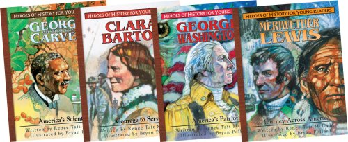 9781932096514: Heroes of History for Young Readers Books 1-4 Gift Set