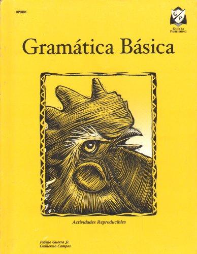Gramatica Basica Actividades Reproducibles: Jr. Fidelio Guerra, Guillermo Campos