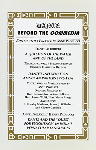 Dante: Beyond the Commedia