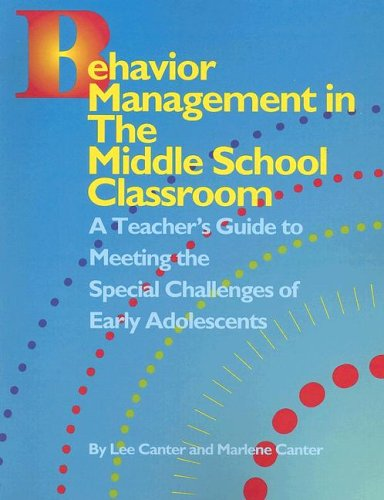 9781932127546: Behavior Management in the Middle School Classroom