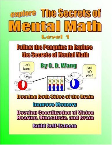 The Secrets of Mental Math Level 1: Wang, CD