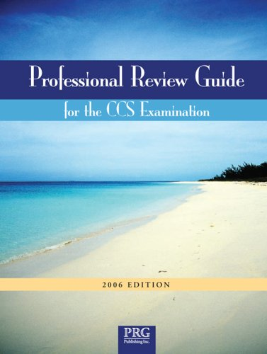 9781932152296: Professional Review Guide for the CCS Examination, 2006 Edition (Professional Review Guide for the CCS Examinations)