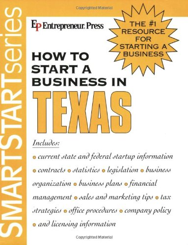 9781932156324: How to Start a Business in Texas (How to Start a Business in Texas (Etrm))