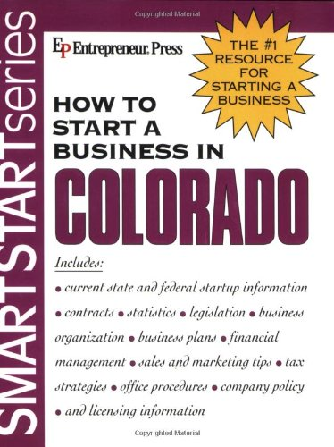 9781932156331: How to Start a Business in Colorado