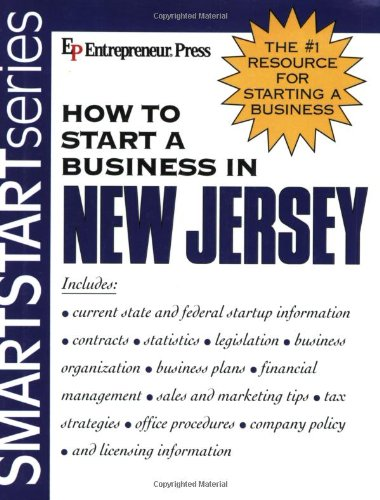 9781932156416: How to Start a Business in New Jersey (How to Start a Business in New Jersey (Etrm))