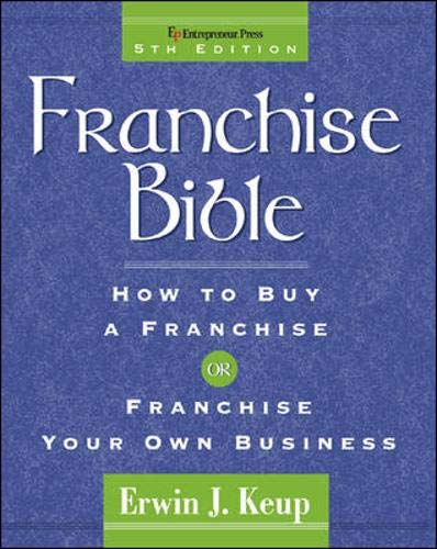 9781932156621: Franchise Bible