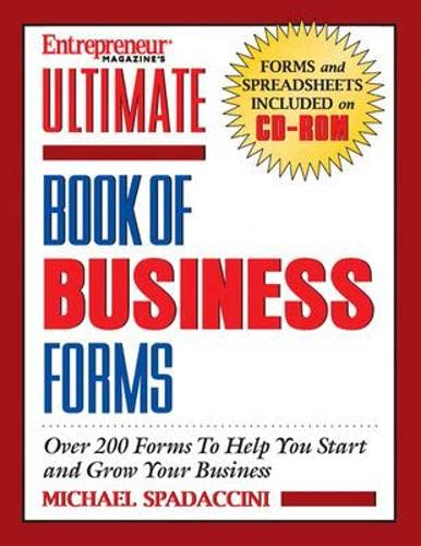 9781932156676: Ultimate Book of Business Forms