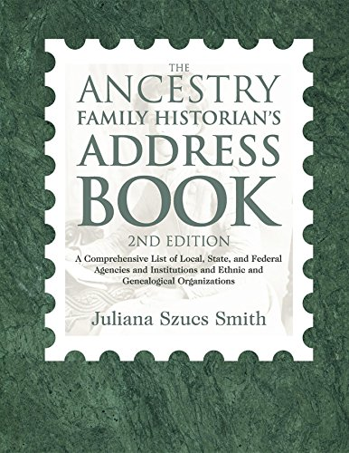 9781932167993: The Ancestry Family Historian's Address Book (2nd Edition)