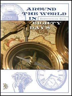 9781932168815: Around the World in Eighty Days Comprehension Guide