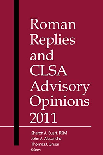 Roman Replies and CLSA Advisory Opinions 2011: America, Canon Law