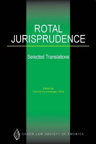 9781932208306: Rotal Jurisprudence: Selected Translations