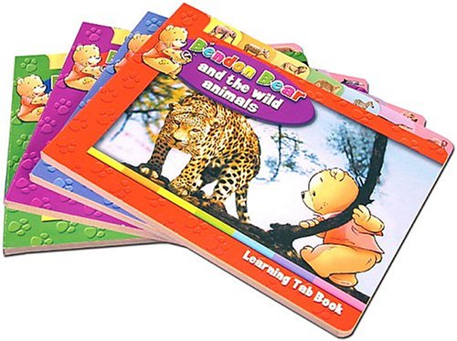 Bendon Bear Learning Tab (Set of 4: ANAM