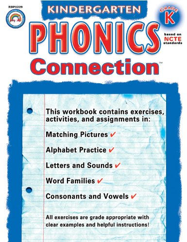 Phonics Connection: Kindergarten (Connections (Rainbow Bridge Publishing)) (Connections Series)