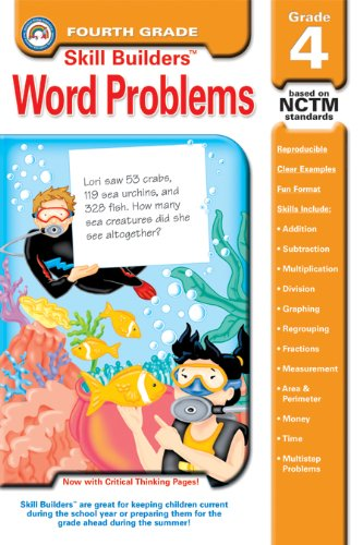 9781932210712: Word Problems, Grade 4 (Skill Builders™)