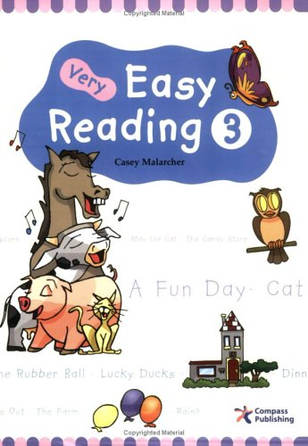 9781932222210: Very Easy Reading 3 (beginning reading with exposure to vocabulary and structure)