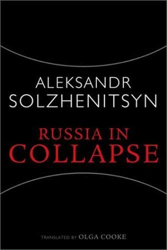 9781932236002: Russia in Collapse