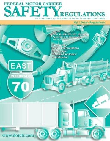 9781932249118: DOT Federal Motor Carrier Safety Regulations
