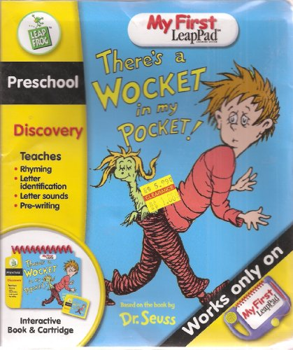9781932256413: There's a Wocket in My Pocket - Interactive Book and Cartridge (My First LeapPad)