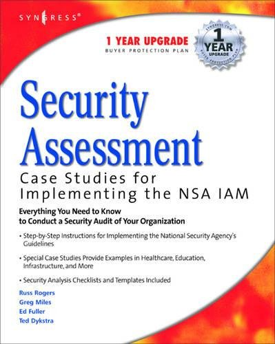 9781932266962: Security Assessment: Case Studies for Implementing the Nsa Iam