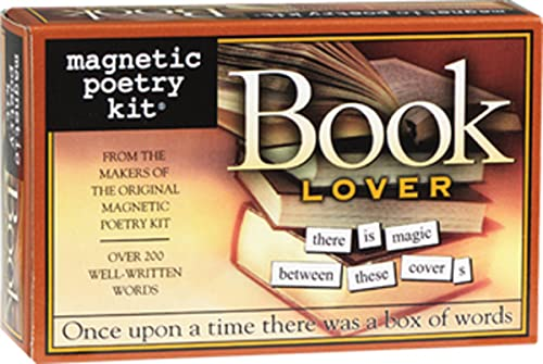 9781932289046: Book Lover: Magnetic Poetry Kit