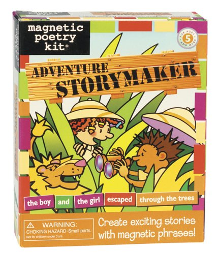 9781932289596: Adventure Storymaker Kit: Magnetic Poetry