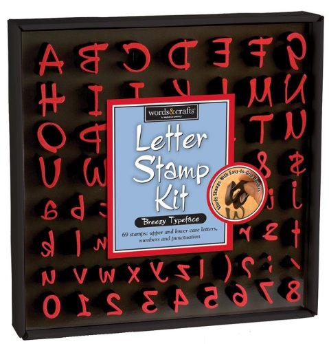 9781932289756: Breezy Letter Stamp Kit