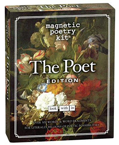 9781932289817: Magnetic Poetry Kit: the Poet Edition