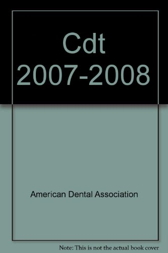 9781932305968: Cdt 2007-2008