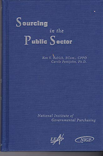 9781932315035: Sourcing in the Public Sector
