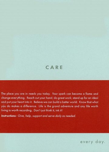 9781932319330: Care: Every Day (Every Day Journals)