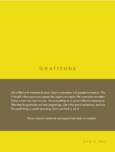 9781932319712: Gratitude: Every Day (Every Day Journals)