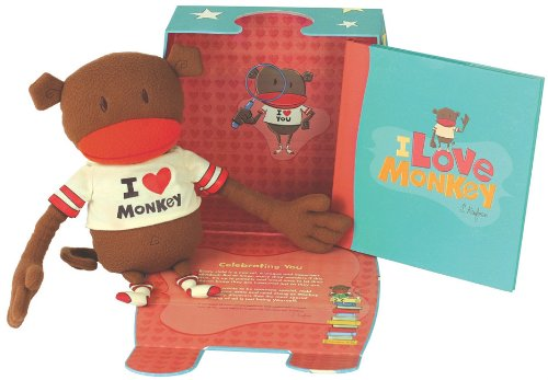 I Love Monkey Discovery Kit [With Monkey and Hardcover Book(s)]: Suzanne Kaufman
