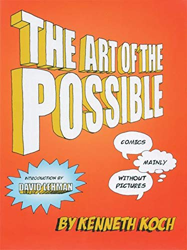 9781932360196: The Art of the Possible!: Comics Mainly Without Pictures