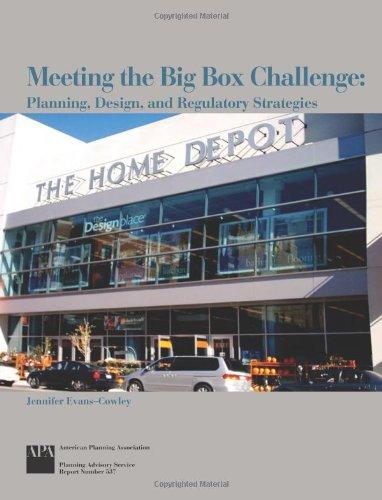 9781932364255: Meeting the Big Box Challenge: Planning, Design, and Regulatory Strategies