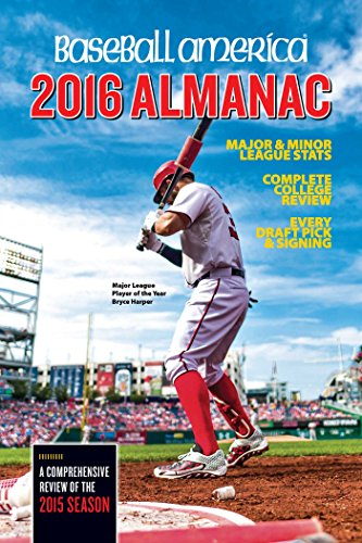9781932391602: Baseball America 2016 Almanac: Comprehensive Review of the 2015 Season (Baseball America Almanac)