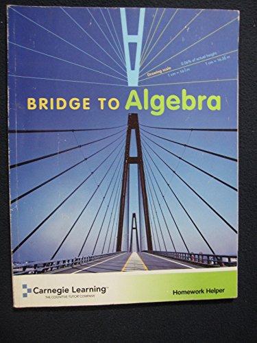 Cognitive Tutor Bridge to Algebra (Homework Helper): Carnegie Learning