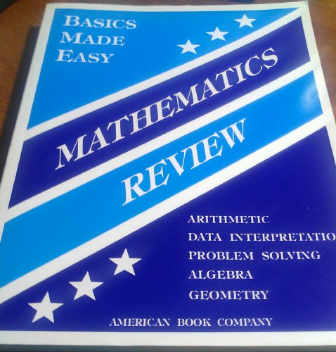 Basics Made Easy Mathematics Review: Pintozzi, Colleen