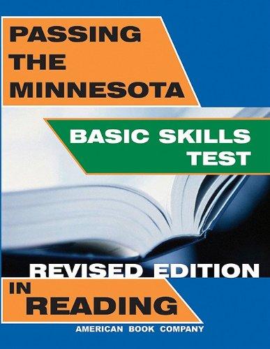 Passing the Minnesota Basic Skills Test in Reading: Pintozzi, Frank, Culpepper, Yvonne W., Pintozzi...