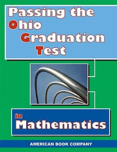 Passing the Ohio Graduation Test in Mathematics: Pintozzi, Colleen; Day, Erica; Fuqua, Alan