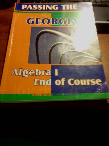 9781932410877: Passing the Georgia Algebra I End of Course