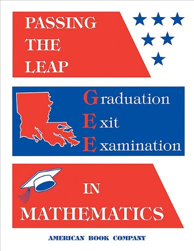 Passing the Leap Graduation Exit Examination in Mathematics: Pintozzi, Colleen