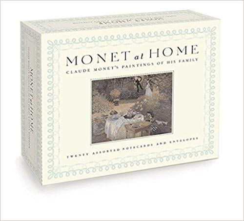 9781932411003: Monet at Home, A Postcard Book: Claude Monet's Paintings of his Family