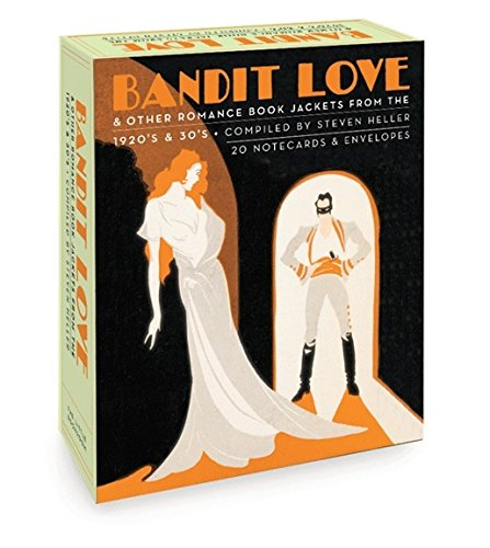 9781932411096: Bandit Love (Boxed Notecards): Romance Book jackets from the 1920's and 30's
