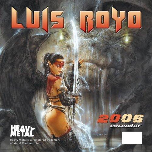 9781932413298: Louis Royo 2006 Calendar