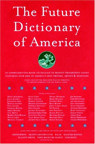 The Future Dictionary of America (with CD) (SIGNED)