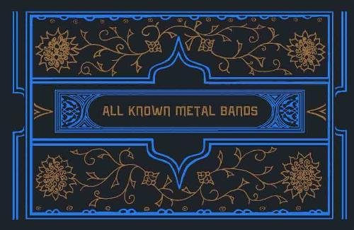 All Known Metal Bands (Mcsweeneys): Dan Nelson