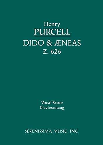 9781932419276: Dido and Aeneas, Z. 626 - Vocal Score