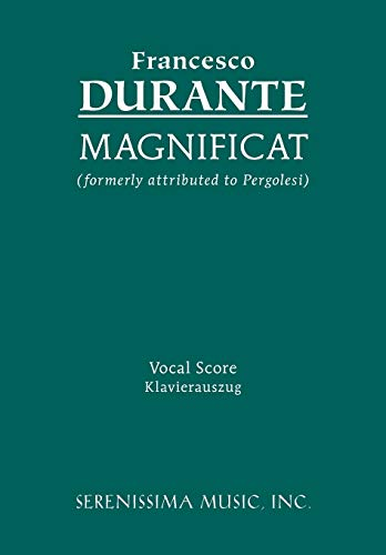 9781932419511: Magnificat: Vocal score (Latin Edition)