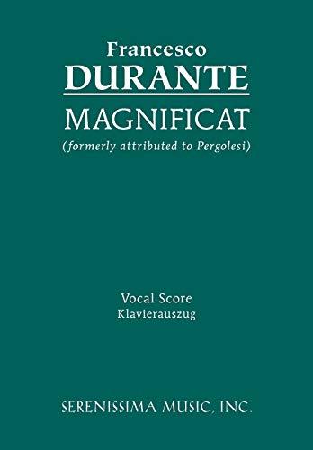 Magnificat: Vocal score