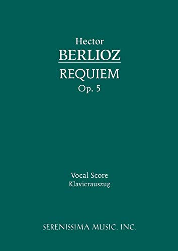 Requiem, Op. 5 - Vocal score